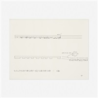 untitled (study for sculpture) by donald judd