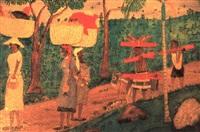 depart au marche by sénèque obin