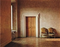 villa medici, hall by evelyn hofer