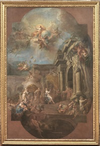 il trasporto dell'arca santa by sebastiano conca