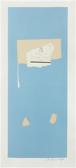 pauillac, #4 (from summer light series) by robert motherwell