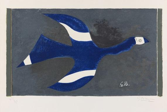 vol de nuit oiseau xii by georges braque