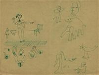 dessins originaux by andré breton