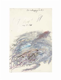 nike androgyne by cy twombly