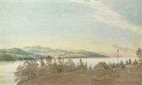 on the st. lawrence by benjamin (major-general) fisher