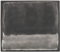 study after mark rothko, number 14, 1951 by robert longo