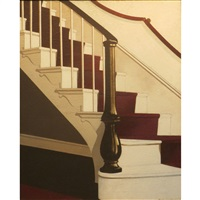 staircase, hadwen house by keith mcdaniel