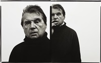 francis bacon, artist, paris, april 11 by richard avedon