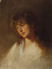 portrait of louisa ann wilkinson by tudor st. george tucker