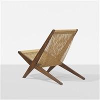 snedkerier lounge chair by jorgen hoj and poul kjaerholm