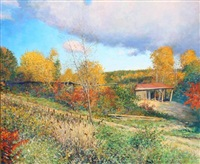 the old sawmill at westminster, vermont by wally ames