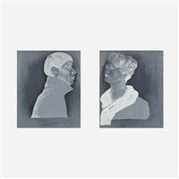 degarotype 1 and degarotype 3 (2 works) by anthony goicolea