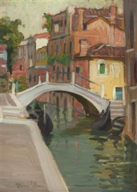 venetian bridge by pauline palmer