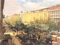 das grand-hotel am kärtnerring by anton hans karlinsky