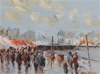 the fish market, galway by thelma mansfield