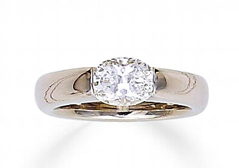 a solitaire ring by gelin abaci