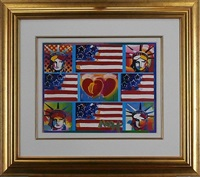 liberty series four liberty by peter max
