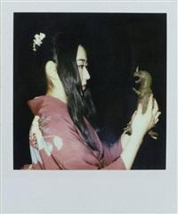 sans titre (from the series issey miyaké) by nobuyoshi araki