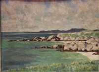 coastal landscape by mabel young