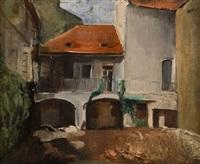starý dům v oragne by georges (karpeles) kars