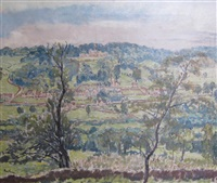 claverton manor, near bath by paul ayshford methuen