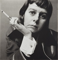 carson mccullers, new york, may 10 by irving penn