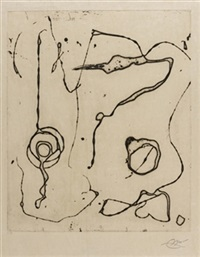 ocells de montroig, v, 1982 by joan miró