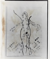 untitled-figure by sigmar polke