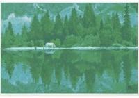 settled lake(reproduction) by shinkichi (kaii) higashiyama