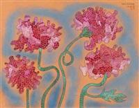 summer flowers by yayoi kusama