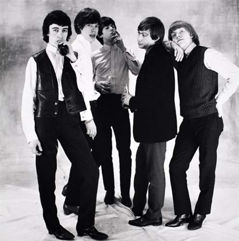the rolling stones by norman parkinson