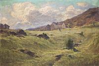 paesaggio montano by romolo ubertalli