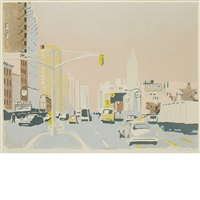 sixth avenue i by fairfield porter