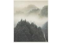 clear morning mist (reproduction) by shinkichi (kaii) higashiyama