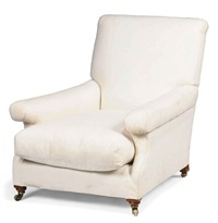 armchair by howard & sons
