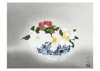 sasanqua, plum (2 works) by yuki ogura