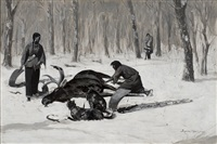 the passion of ah-we-ah by frederic remington