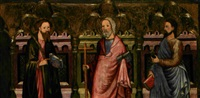 san pietro apostolo, san giacomo maggiore, san giacomo minore by michael pacher