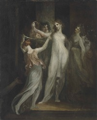 salome with the head of saint john the baptist by henry fuseli