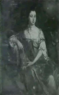 portrait of a lady;                     together with a portrait of a gentleman by john van der vaart