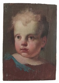 testa di putto by jacopo amigoni