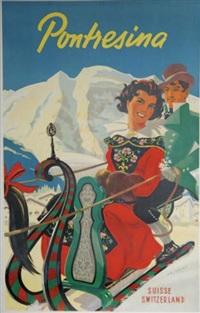 pontresina suisse- switzerland by martin peikert