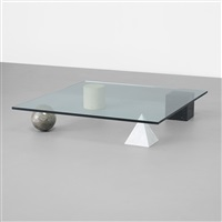metaphora 1 coffee table by lella and massimo vignelli