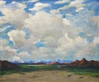 wagontrain by albert lorey groll