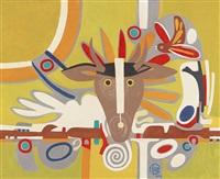 deer totem by françoise gilot