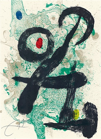 抽象 abstract by joan miró