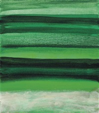 green sea by mary heilmann