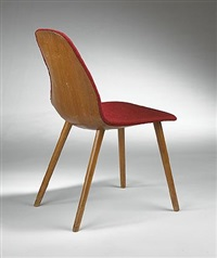 chair by eero saarinen and charles eames