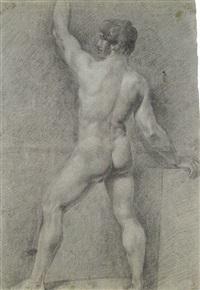 studio di nudo (+ scena storica, verso) by pietro benvenuti