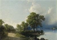 lago d'azeglio by giuseppe camino